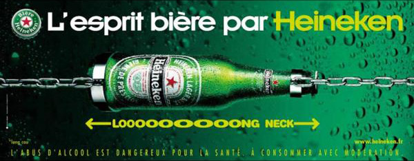 Heineken: long neck, 2003