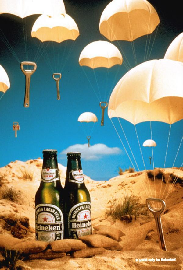 Heineken: Parachute, 2001