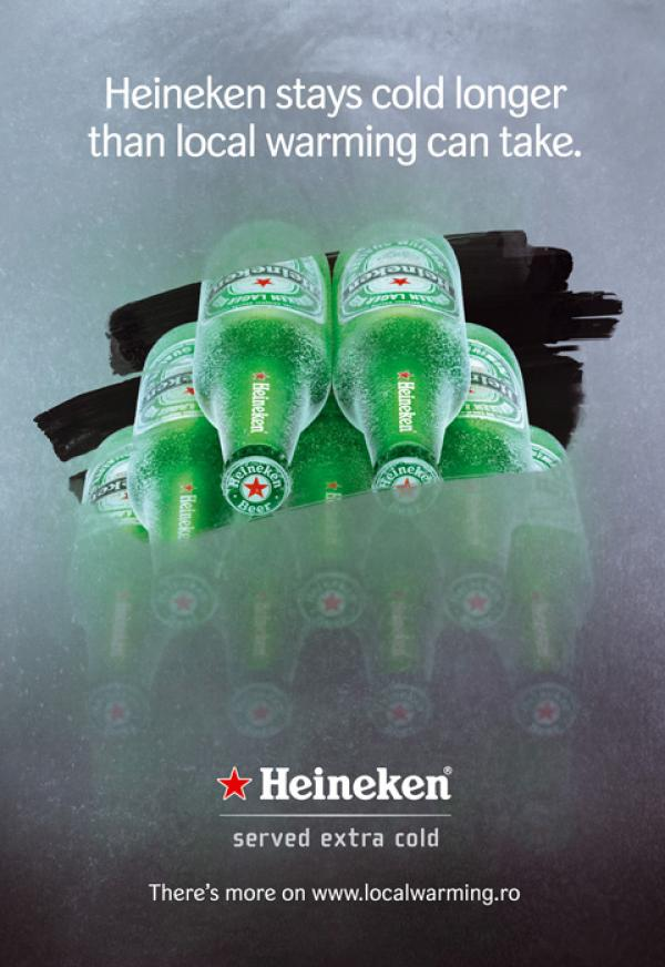 Heineken served extra cold, 2007
