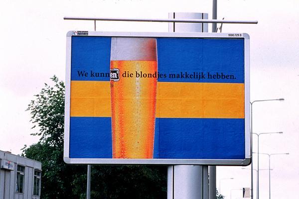 Heineken: Sweden flag, 2001