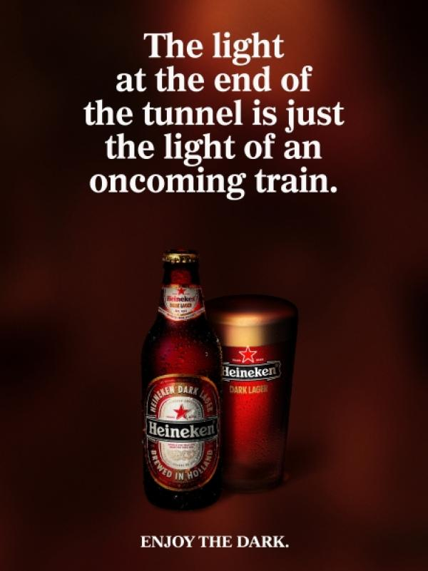 The light at the end of the tunnel is just the light of an oncoming train, 2005