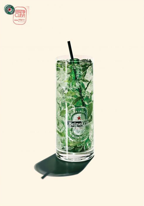 Heineken unofficial drink of Cuba, 2007