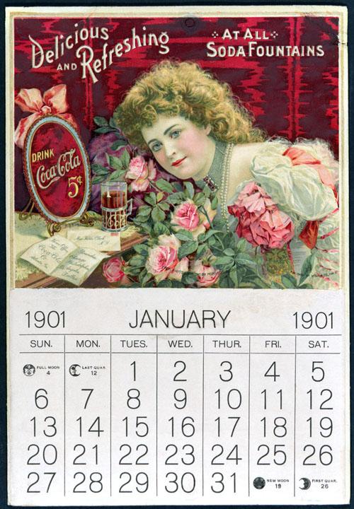 Calendar with Hilda Clark