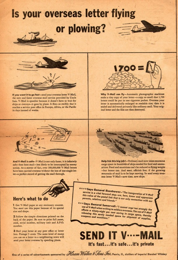 Is your overseas letter flying or plowing?, 1944
