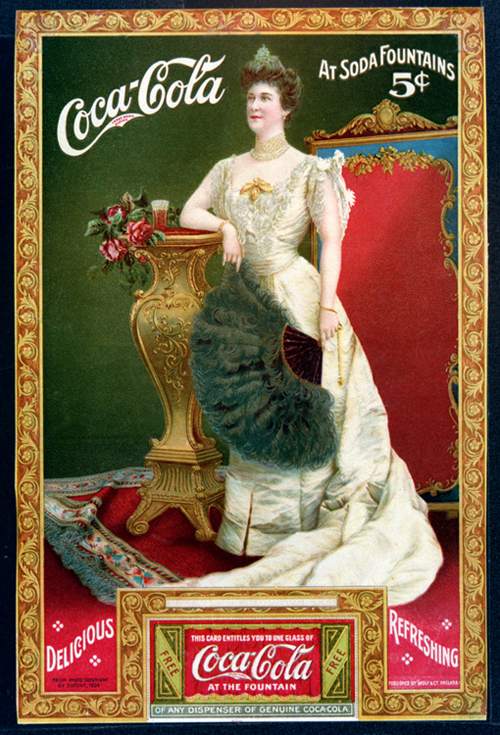 1905 Lillian Nordica Coca-Cola Ad with Coupon
