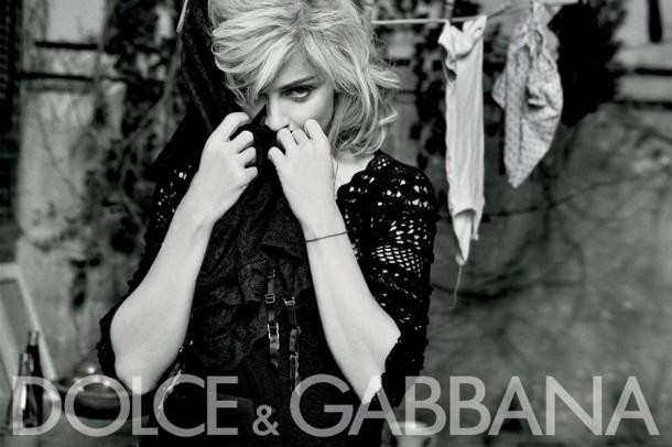 Dolce & Gabbana Winter 2011 Madonna Ad Campaign