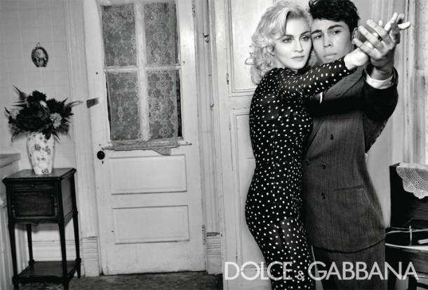 Dolce & Gabbana Winter 2011 Madonna Ad Campaign #2
