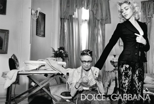 Dolce & Gabbana Winter 2011 Madonna Ad Campaign #3