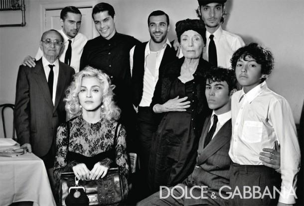 Dolce & Gabbana Winter 2011 Madonna Ad Campaign #4