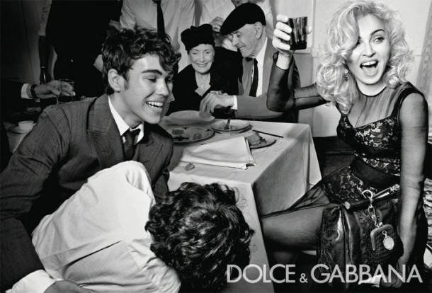 Dolce & Gabbana Winter 2011 Madonna Ad Campaign #5
