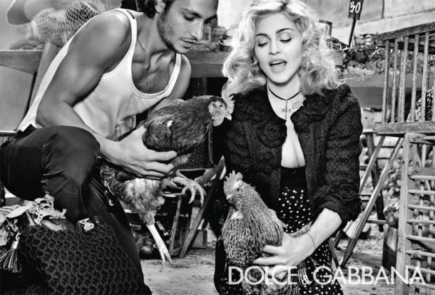 Dolce & Gabbana Winter 2011 Madonna Ad Campaign #6