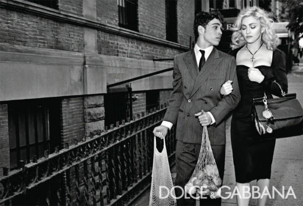 Dolce & Gabbana Winter 2011 Madonna Ad Campaign #8