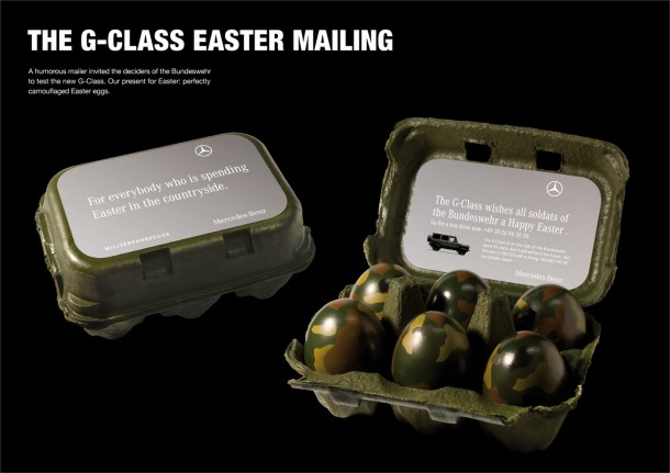 "Mercedes-Benz ""The G-class easter mailing"" 2008"
