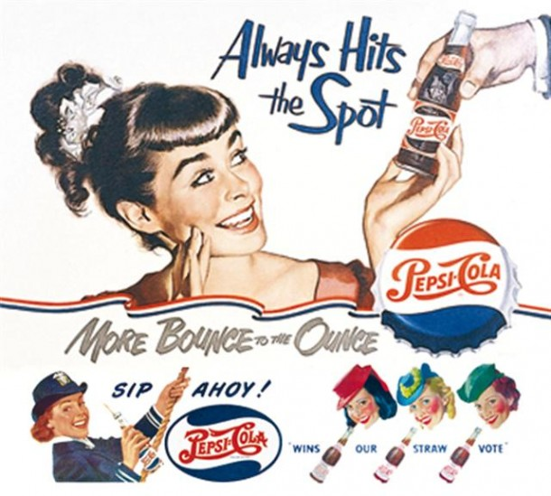 Always hits the spot 1950s