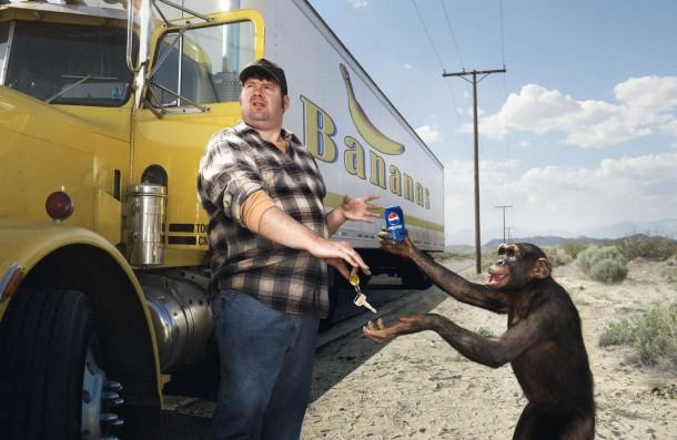Pepsi Banana Truck 2008