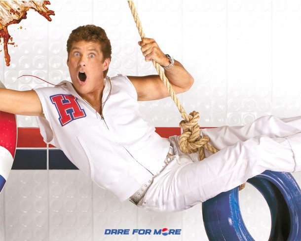"Pepsi campaign with David Hasselhoff ""Dare for more"" 1990s"