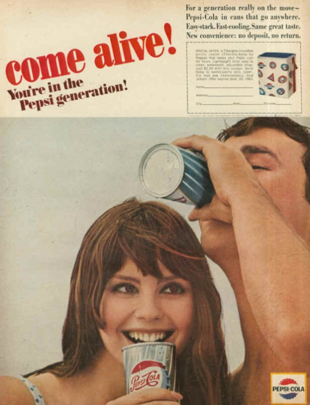 For generation really on the move, 1965