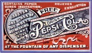 Pepsi free drink coupon 1905-1915 #2