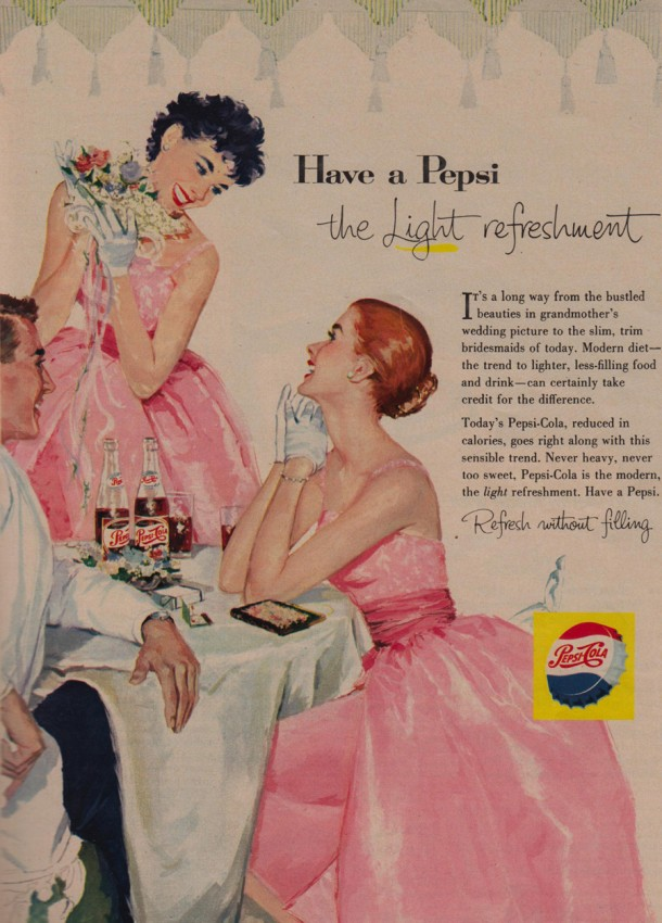 "Pepsi ""Have a Pepsi the light refreshment"" 1950s"