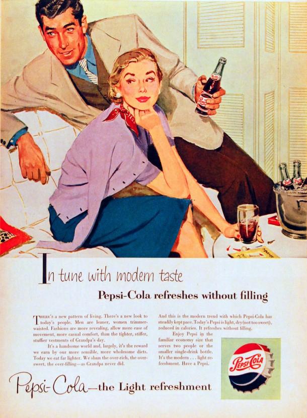 In tune with modern taste 1953