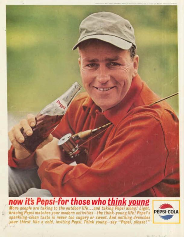 Light, bracing Pepsi matches your modern activities, 1963