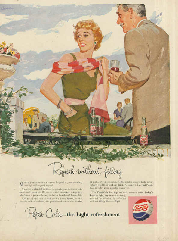 Light refreshment 1954