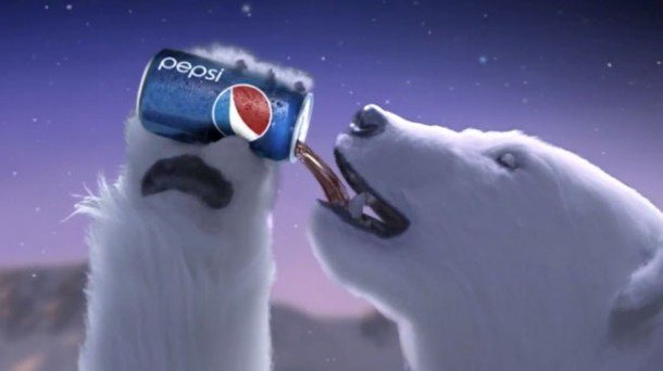 Pepsi polar bear: Uncle Teddy, 2011