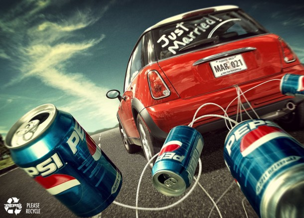 Pepsi recycle: just married 2006