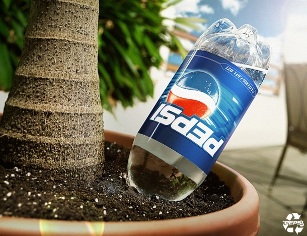 Pepsi recycle: pot 2006