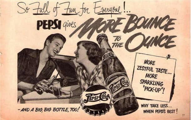 Pepsi So full of fun for everyone!.. 1950s