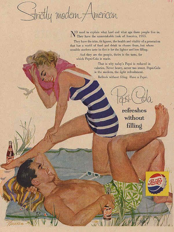 Strictly modern American 1955
