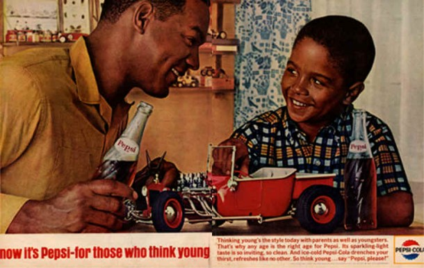 That's why any age is the right age for Pepsi, 1964