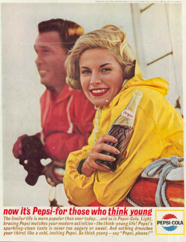 The livelier life is more popular than ever today..., 1963