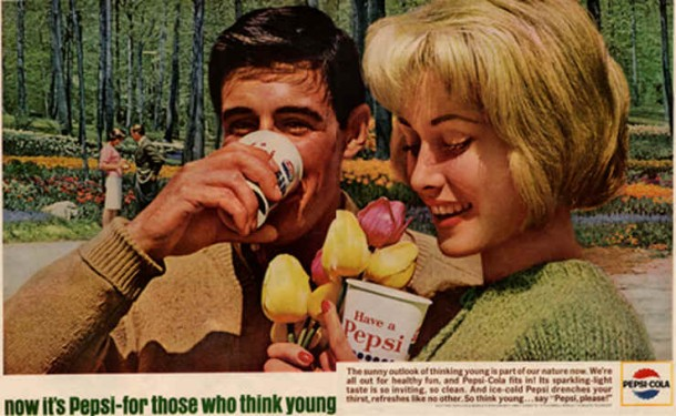 The sunny outlook of thinking young is part of our nature now, 1964