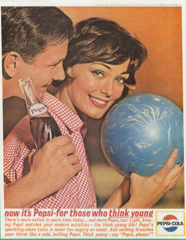 There's more action in spare time today, 1963