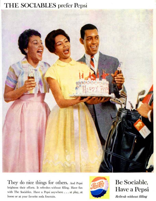 "Pepsi ""They do nice things for others"" 1959"