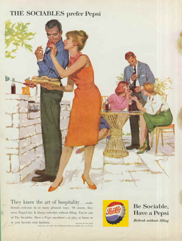 They know the art of hospitality, 1960