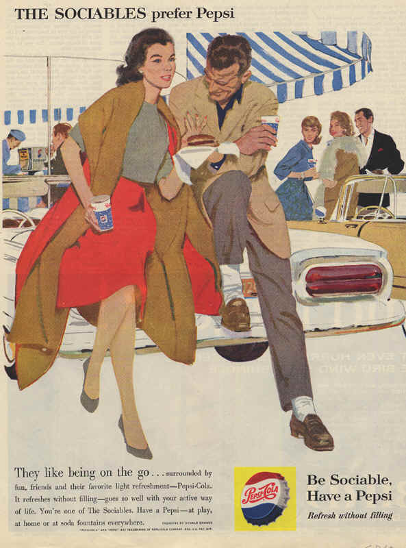 They like being on the go, 1960