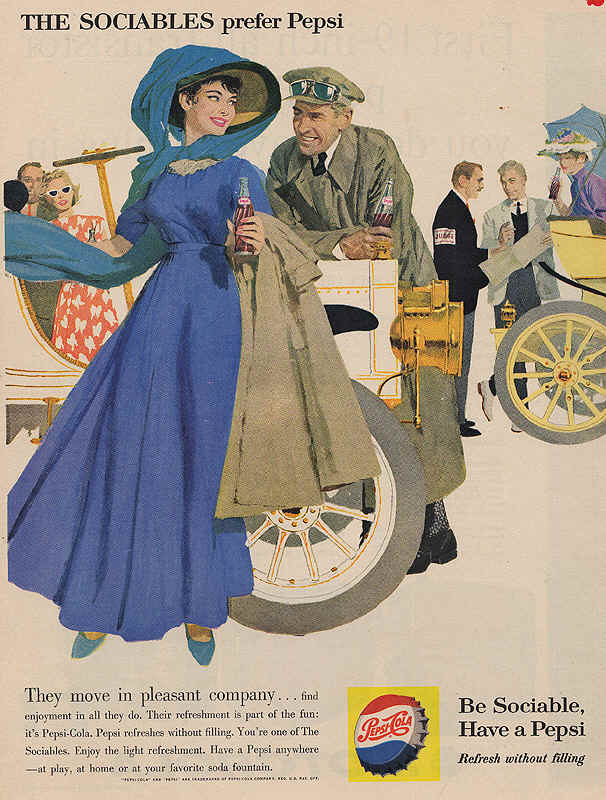 They move in pleasant company, 1960