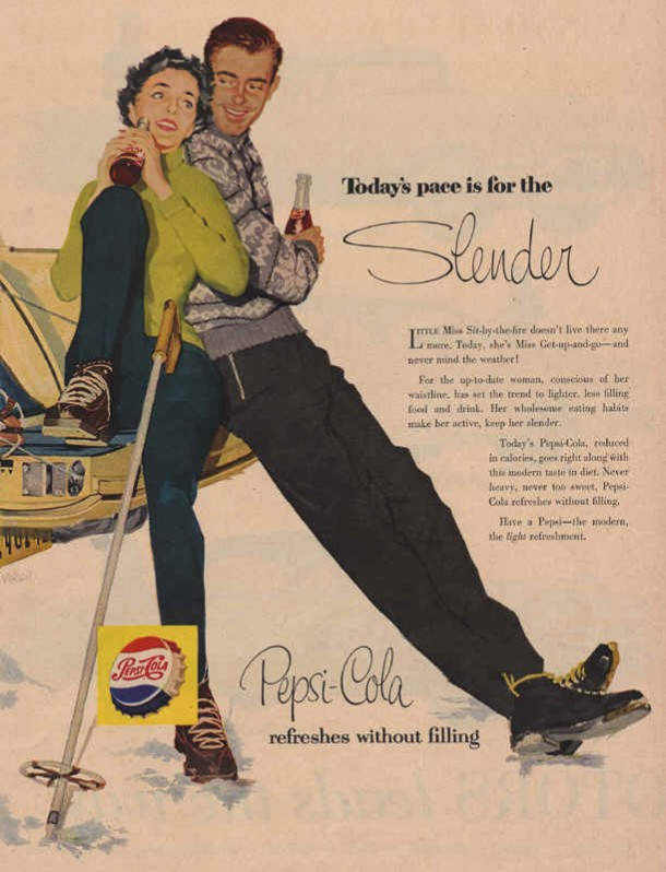 Today's pace is for the slender 1956