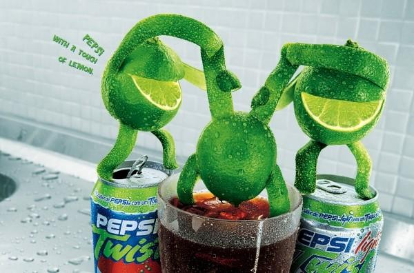 "Pepsi Twist: ""dip"" 2004"
