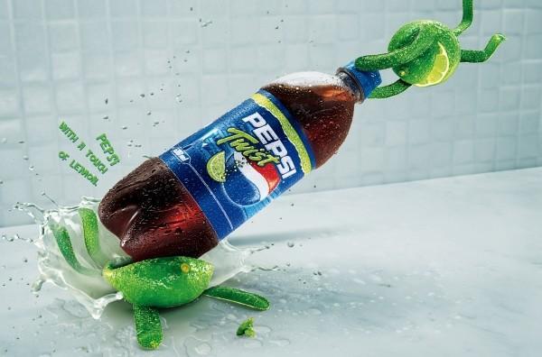 """Pepsi Twist: """"squash"""" 2004"""