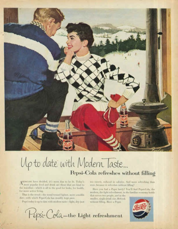 Up to date with modern taste 1954