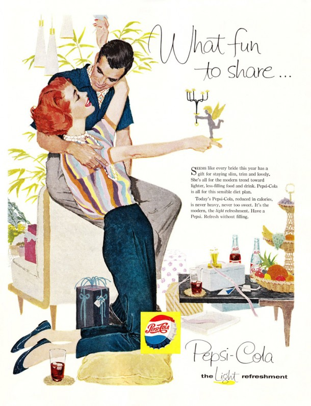 "Pepsi ""What fun to share..."" 1958"