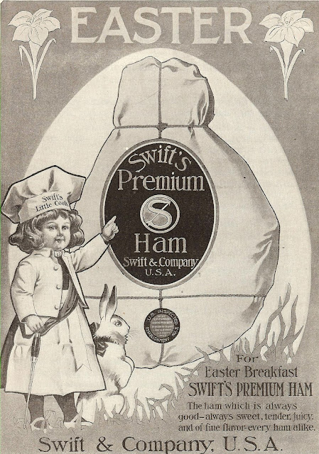 Swift's premium ham from 1908