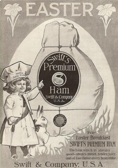 Swift's premium ham from 1908