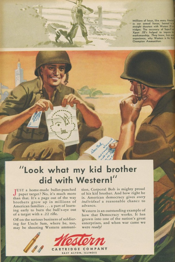 Western cartridge company, 1943