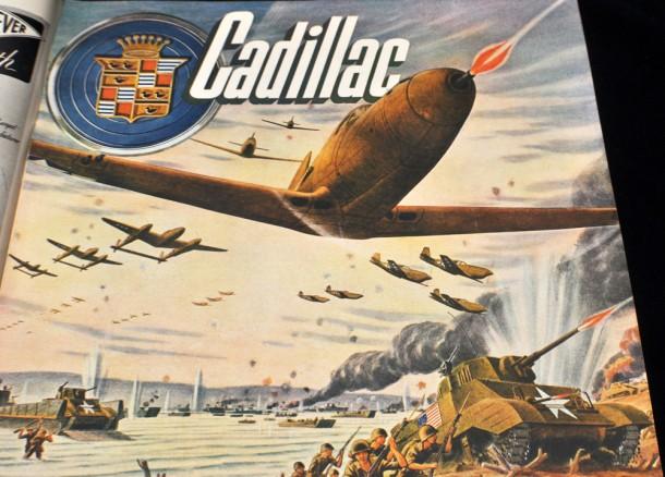 WWII Cadillac magazine ad, 1944